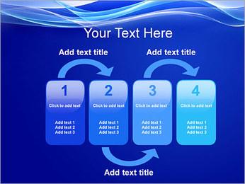 Vagues dynamiques Modèles des présentations  PowerPoint - Diapositives 11