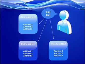 Vagues dynamiques Modèles des présentations  PowerPoint - Diapositives 12