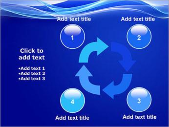Vagues dynamiques Modèles des présentations  PowerPoint - Diapositives 14