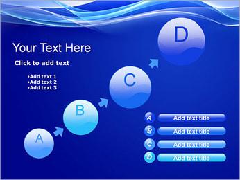 Vagues dynamiques Modèles des présentations  PowerPoint - Diapositives 15