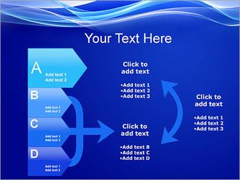 Vagues dynamiques Modèles des présentations  PowerPoint - Diapositives 16
