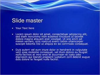 Vagues dynamiques Modèles des présentations  PowerPoint - Diapositives 2
