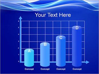 Vagues dynamiques Modèles des présentations  PowerPoint - Diapositives 21