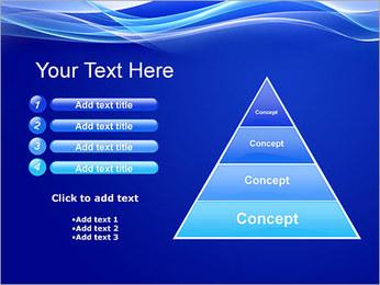 Vagues dynamiques Modèles des présentations  PowerPoint - Diapositives 22