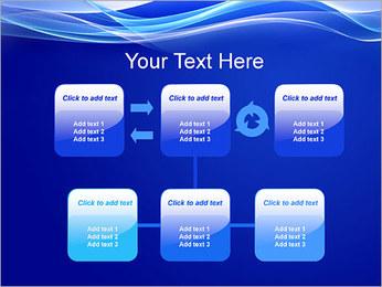 Vagues dynamiques Modèles des présentations  PowerPoint - Diapositives 23