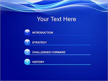 Vagues dynamiques Modèles des présentations  PowerPoint - Diapositives 3