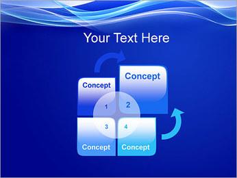 Vagues dynamiques Modèles des présentations  PowerPoint - Diapositives 5