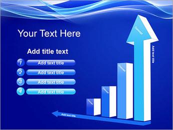 Vagues dynamiques Modèles des présentations  PowerPoint - Diapositives 6