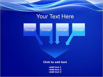 Vagues dynamiques Modèles des présentations  PowerPoint - Diapositives 8