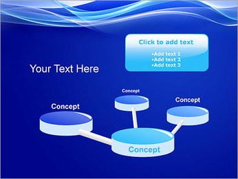 Vagues dynamiques Modèles des présentations  PowerPoint - Diapositives 9