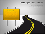 Road Signs PPT Diagrams & Chart
