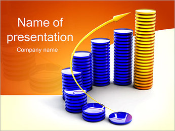 Coins Diagram PowerPoint Template
