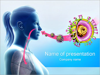 Virus Infection PowerPoint Template