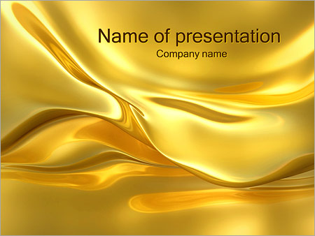 Golden waves powerpoint template backgrounds id 0000001987 golden waves powerpoint templates toneelgroepblik Choice Image