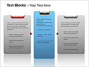 Text Blocks PPT Diagrams & Charts