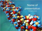 Les gènes d'ADN Modèles des présentations  PowerPoint