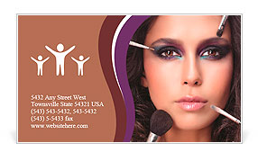 Healthcaremedical business card templates designs for download attractive young caucasian woman closeup portrait isolated on white looking at camera studio shot fa business creative spiral business card template reheart Image collections