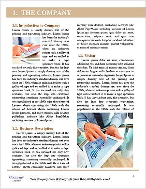 As pessoas modernas que fazem negócios, gráficos e tabelas que estão sendo demonstradas na tela de um touch-pad  Modelos lexicai - Página 3