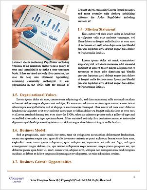 As pessoas modernas que fazem negócios, gráficos e tabelas que estão sendo demonstradas na tela de um touch-pad  Modelos lexicai - Página 4