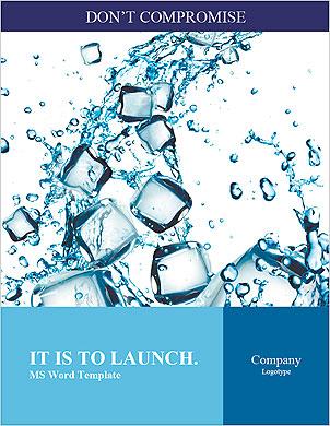 Les projections d'eau avec des glaçons Les clichés de dictionnaire - Page 1