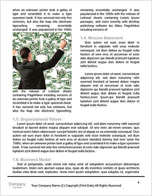 Un homme d'affaires Lâcher de paperasse dans une tempête Les clichés de dictionnaire - Page 4