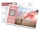 I Choose You - People in business concept Postcard Template