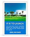 Irrigation golf course in Dominican republic Ad Templates