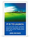 Golf course Ad Templates