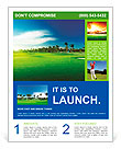 Golf course Flyer Templates