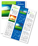 Golf course Newsletter Templates