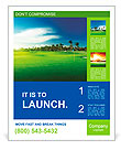 Golf course Poster Template