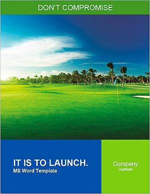 Поле для гольфа Словарные шаблоны - Страница 1