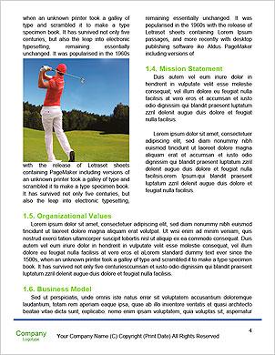 Поле для гольфа Словарные шаблоны - Страница 4