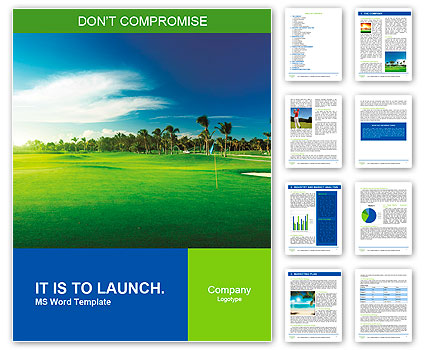 golf course word template design id 0000010057 smiletemplates com