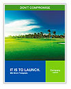 Golf course Word Templates