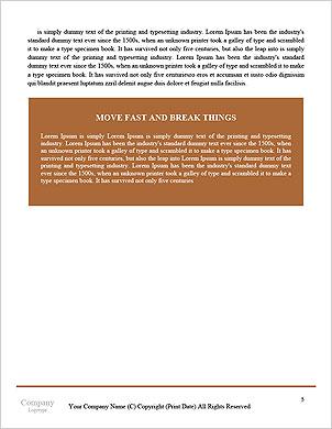 障害を克服 辞書のテンプレート - ページ 5