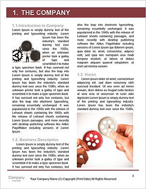 ギアを操作するビジネスマンとのチームワークのコンセプト 辞書のテンプレート - ページ 3