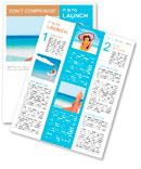 Vacation holidays. Woman feet closeup of girl relaxing on beach on sunbed enjoying sun on sunny summ Newsletter Templates
