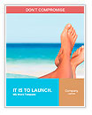 Vacation holidays. Woman feet closeup of girl relaxing on beach on sunbed enjoying sun on sunny summ Word Template