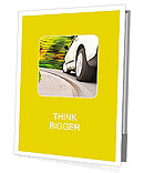 Driving in the curve Presentation Folder