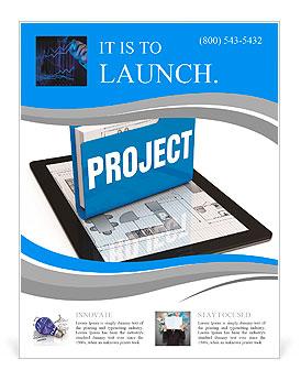 Concept de projet d'affaires Flyer