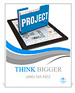 Business project concept Poster Template