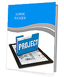 Business project concept Presentation Folder
