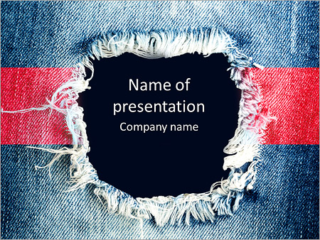 blue torn denim jeans texture with space for text powerpoint