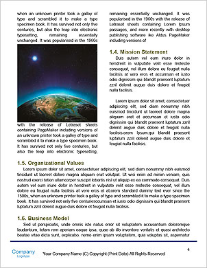 Terra do planeta com nascer do sol sobre os países europeus (Elementos desta imagem equipada pela NASA-eart  Modelos lexicai - Página 4