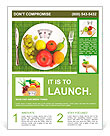 Diet and nutrition Flyer Template