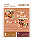High-school student raising her hand in class lesson teenagers study Flyer Templates