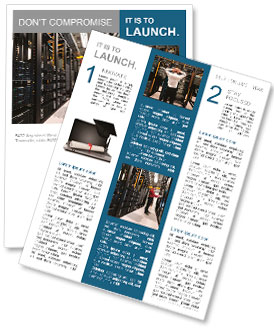 technology newsletter templates designs for download