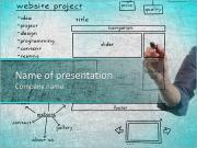 Проект Разработка веб-сайта на доске Шаблоны презентаций PowerPoint