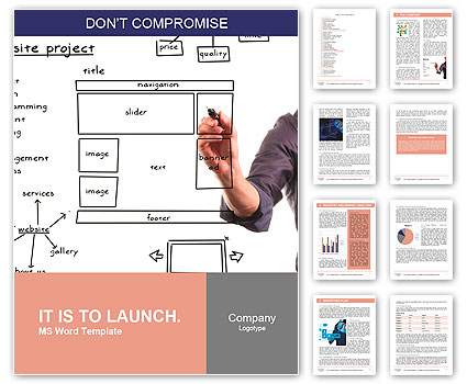 web development project template